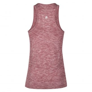 Racerback Top burgundy melee - back - LR