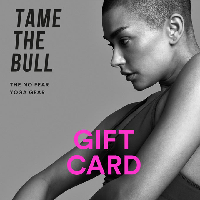 Tame The Bull Giftcard