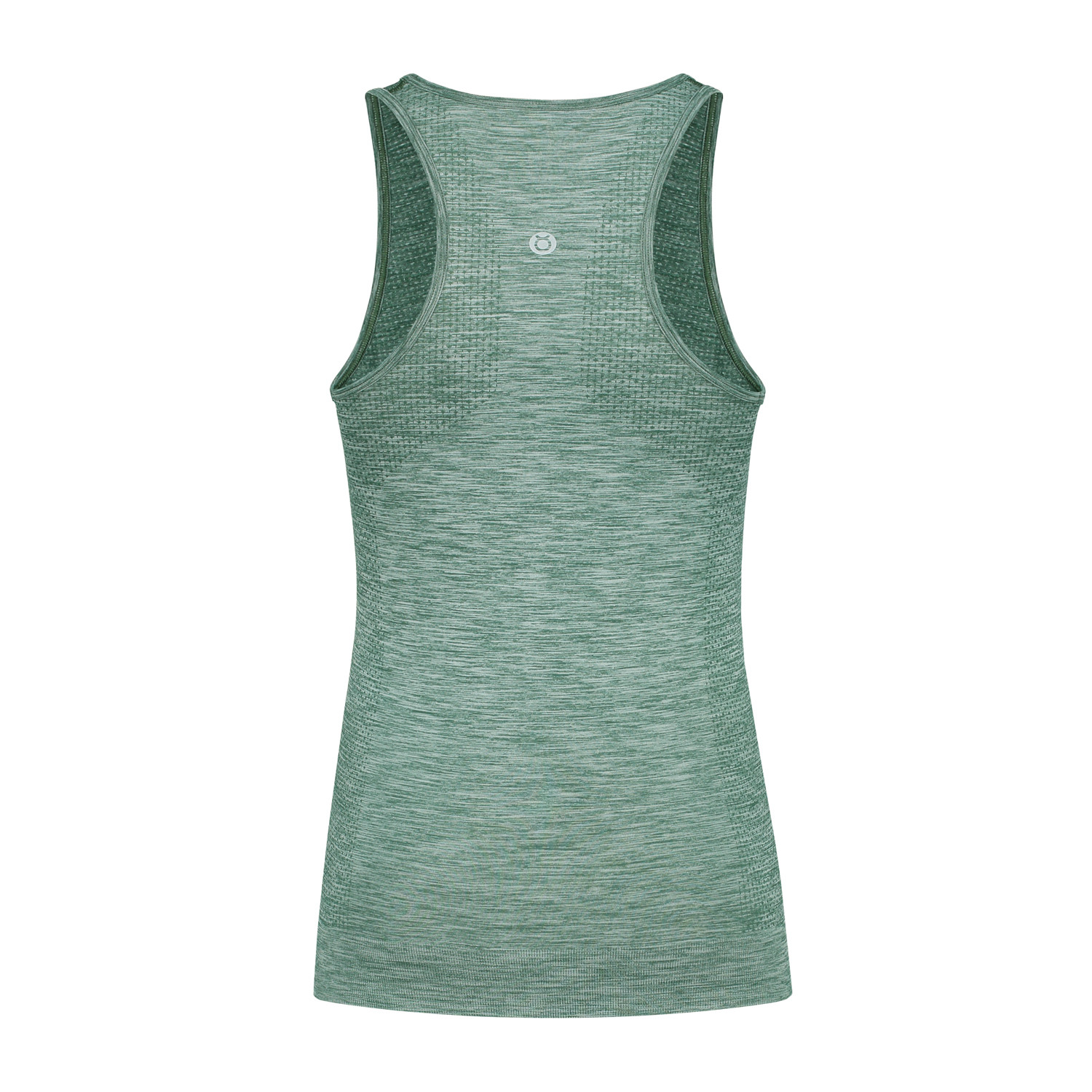 racerback vest dark green_Back